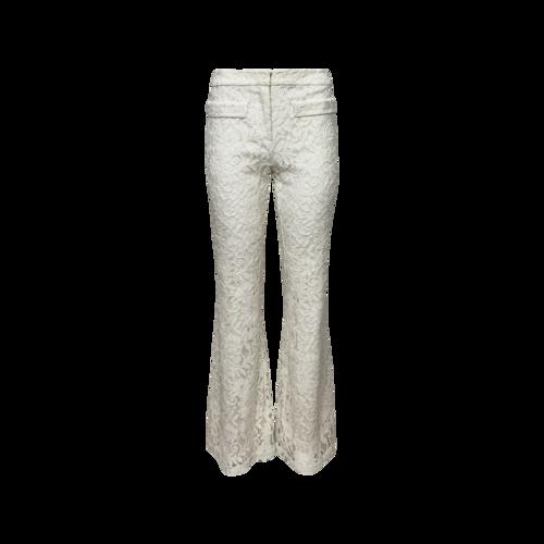 Alexis Cream Lace Flare Pants