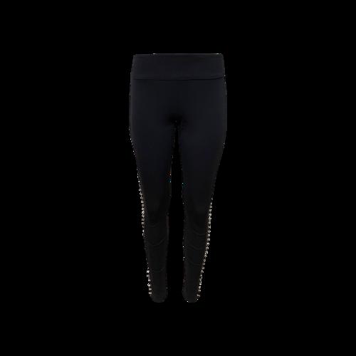 Nicole Miller Black Studded Stretch Pants