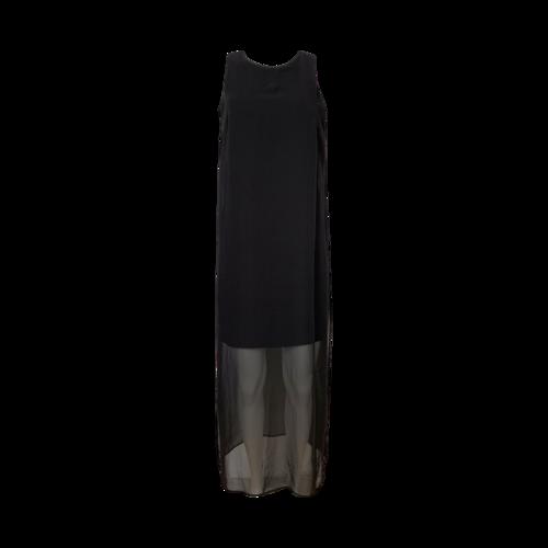 Vince Camuto Black Overlay Dress