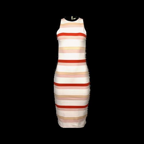Nicole Miller Multi-Color Striped Body Con Dress