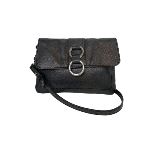 Cole Haan Black Faux Leather Crossbody Bag