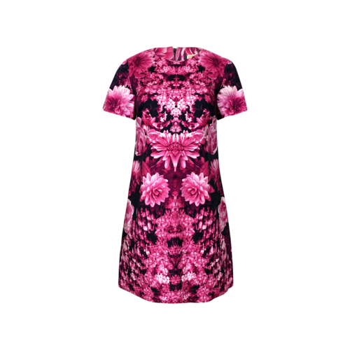 Michael Kors Pink Garden Floral Dress