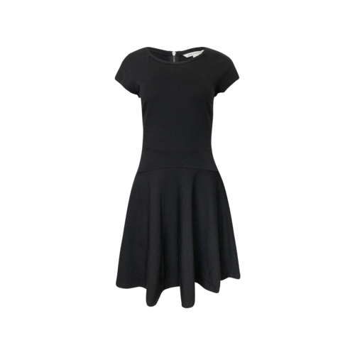 "Diane von Furstenberg Black ""Delyse"" Skater Dress"