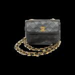 Vintage Chanel Black Mini Flap Bag