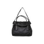 "Black ""Leslie"" Cobble Hill Bag"
