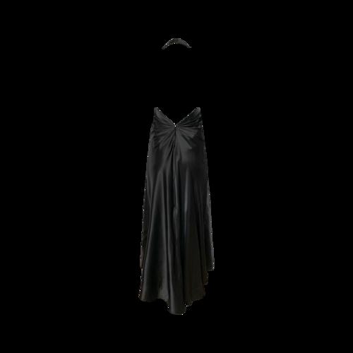 Studio 17 Black Halter Neck Gown