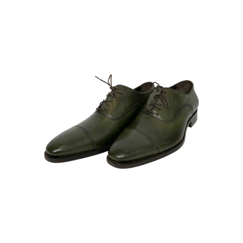 To Boot New York Dark Green Oxford Shoes
