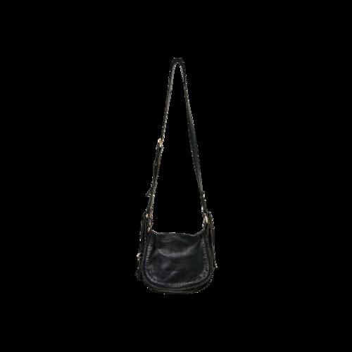 Joie Black Tassle Crossbody Bag