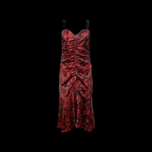 "Parker Red Floral Print ""Mackay"" Dress"
