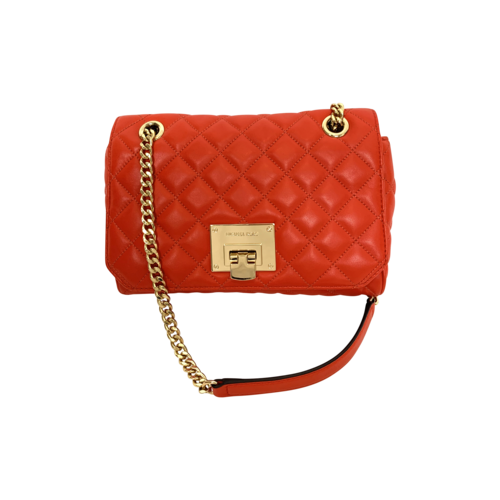 """Red """"Vivianne"""" Shoulder Bag"""