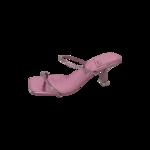 """Metallic Pink """"Mrs. Big"""" Mules"""