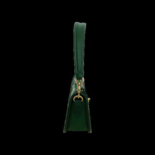"""Green """"Swinger"""" Signature Jacquard Shoulder Bag"""