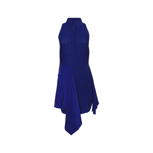 3.1 Phillip Lim Royal Blue Tie-Waist Shirt Dress