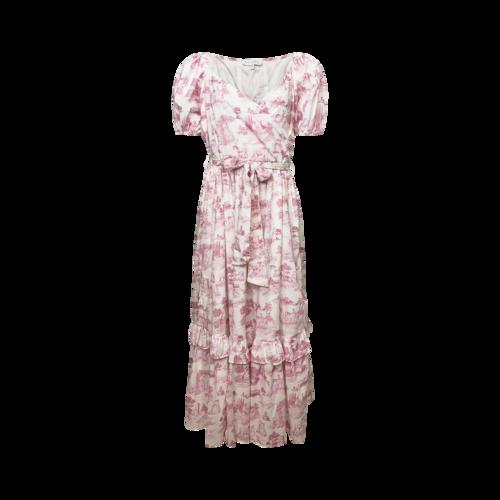"Ivy City Co. Pink Printed ""Antoinette"" Midi Dress"