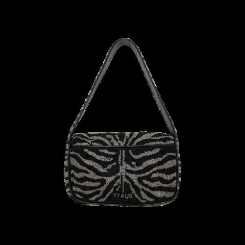Tommy Beaded Zebra Bag