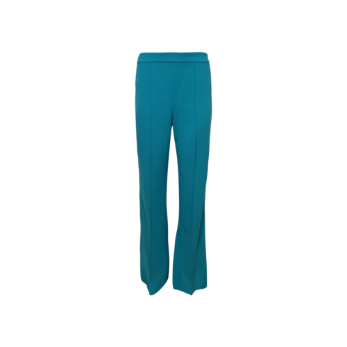 Alice + Olivia Teal Front Seam Pants