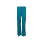 Teal Front Seam Pants