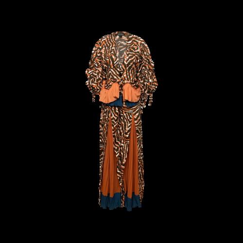 """Bohn Jsell Multi Printed """"Daton"""" 2-Piece Suit"""