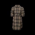 Multi- Color Short Sleeve Plaid Jacket