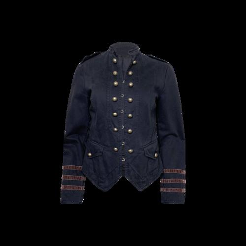Vintage Adivina Divina Navy Blue Military Jacket