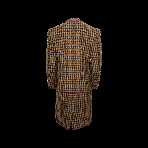 Tweed 2-Piece Skirt and Jacket Suit Set