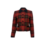for ASL Red Tweed Holiday Blazer