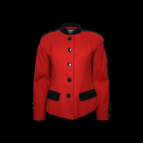 Vintage Red Herbert Grossman by Cynthia Sobel Jacket