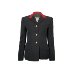 Black and Red Blazer w/ Gold Buttons