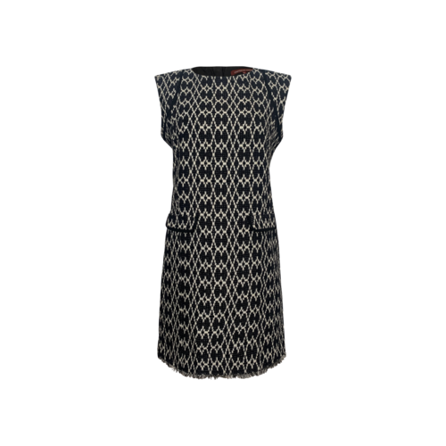 """Comptoir Des Cotonniers Black """"Remicia"""" Patterned Dress"""