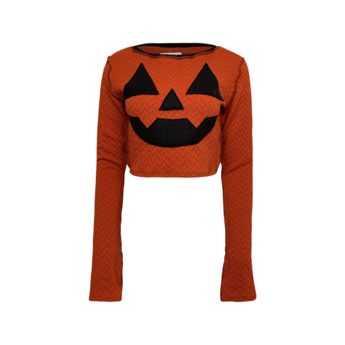 Costumes Orange Obsequies Pumpkin Sweater