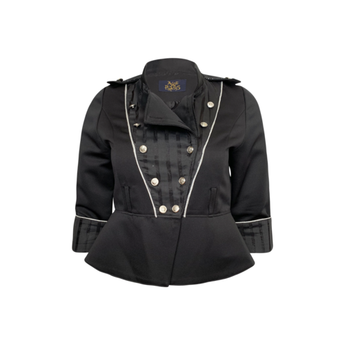 Alice and the Pirates Black Alice and the Pirates Cropped Jacket