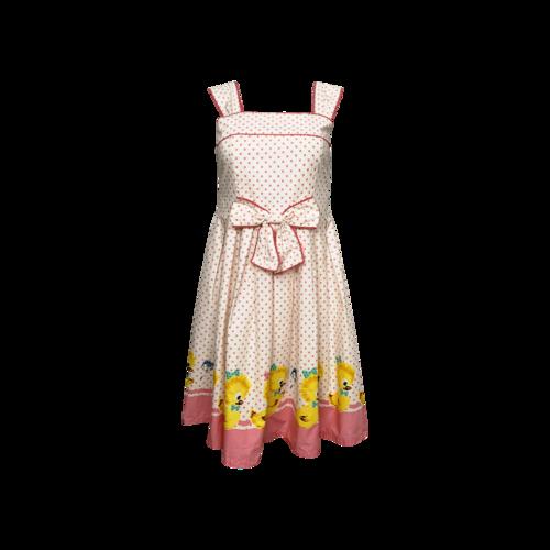 Costumes Pink Lolita Cosplay Duck Print Dress