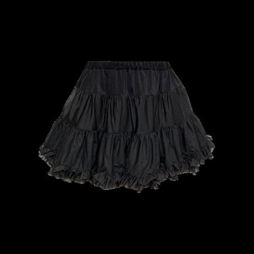 Costumes Black Reversible Petticoat