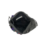 Diana for Mylinka Black Ruffle Bag