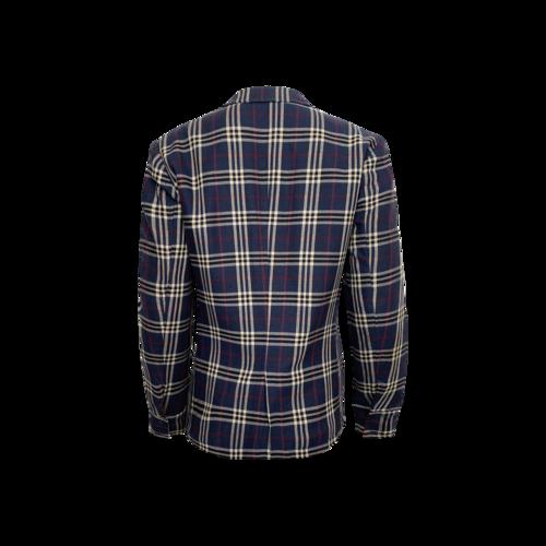 Blue Plaid Jacket