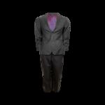 Grey Custom Indochino Two-Piece Suit Set