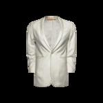 White Slim Fit Dinner Jacket