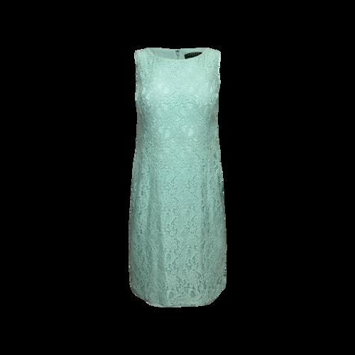 Calvin Klein Mint Green Lace Sheath Dress