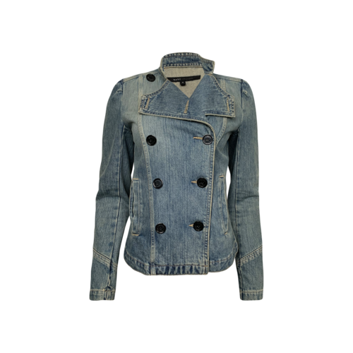 Marc Jacobs Blue Double Breasted Denim Jacket