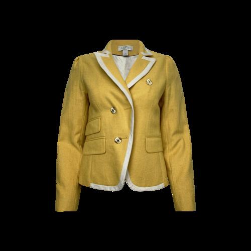 Ann Taylor Vintage Yellow Blazer