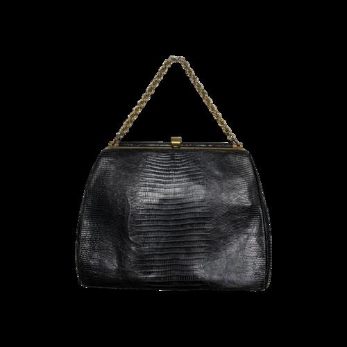Vintage Black  Vintage Bellestone Leather Purse
