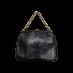 Black  Vintage Bellestone Leather Purse
