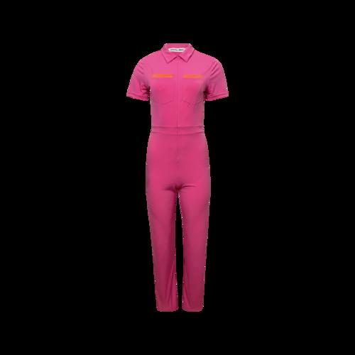 "Vintage Pink Peachy Den ""Kernel"" Jumpsuit"