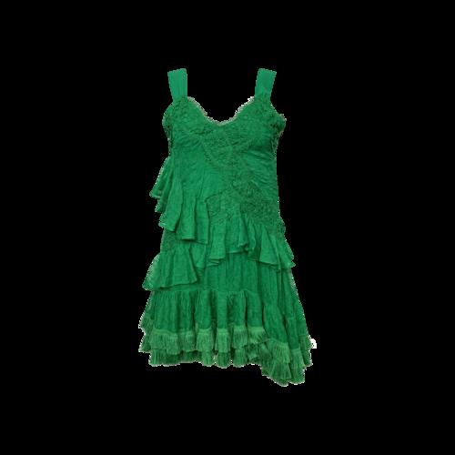 "Alexis Emerald Green ""Lakshmi"" Lace Dress"