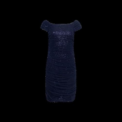 Ralph Lauren Navy Blue Sequin Dress