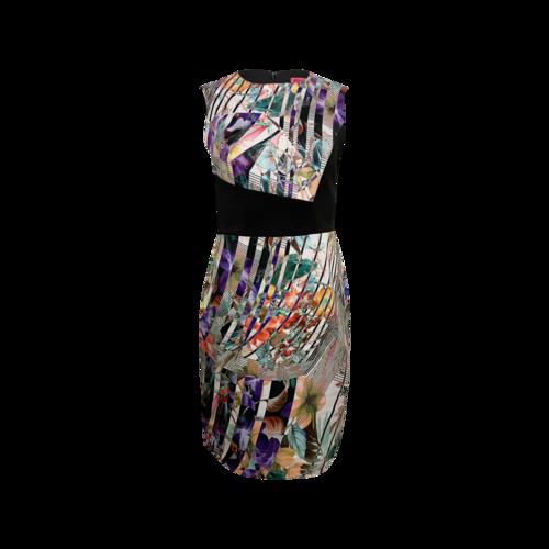 Betsey Johnson Vintage Floral Print Sheath Dress