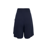 Navy Blue Vintage High Waisted Shorts