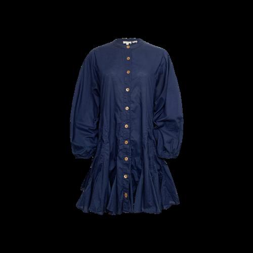 """Rhode Resort Navy Blue """"Emma"""" Button Down Dress"""