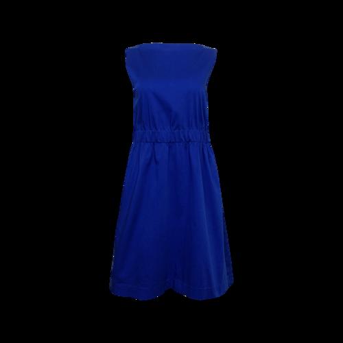 Theory Royal Blue Bateau Neck Dress