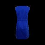 Royal Blue Bateau Neck Dress